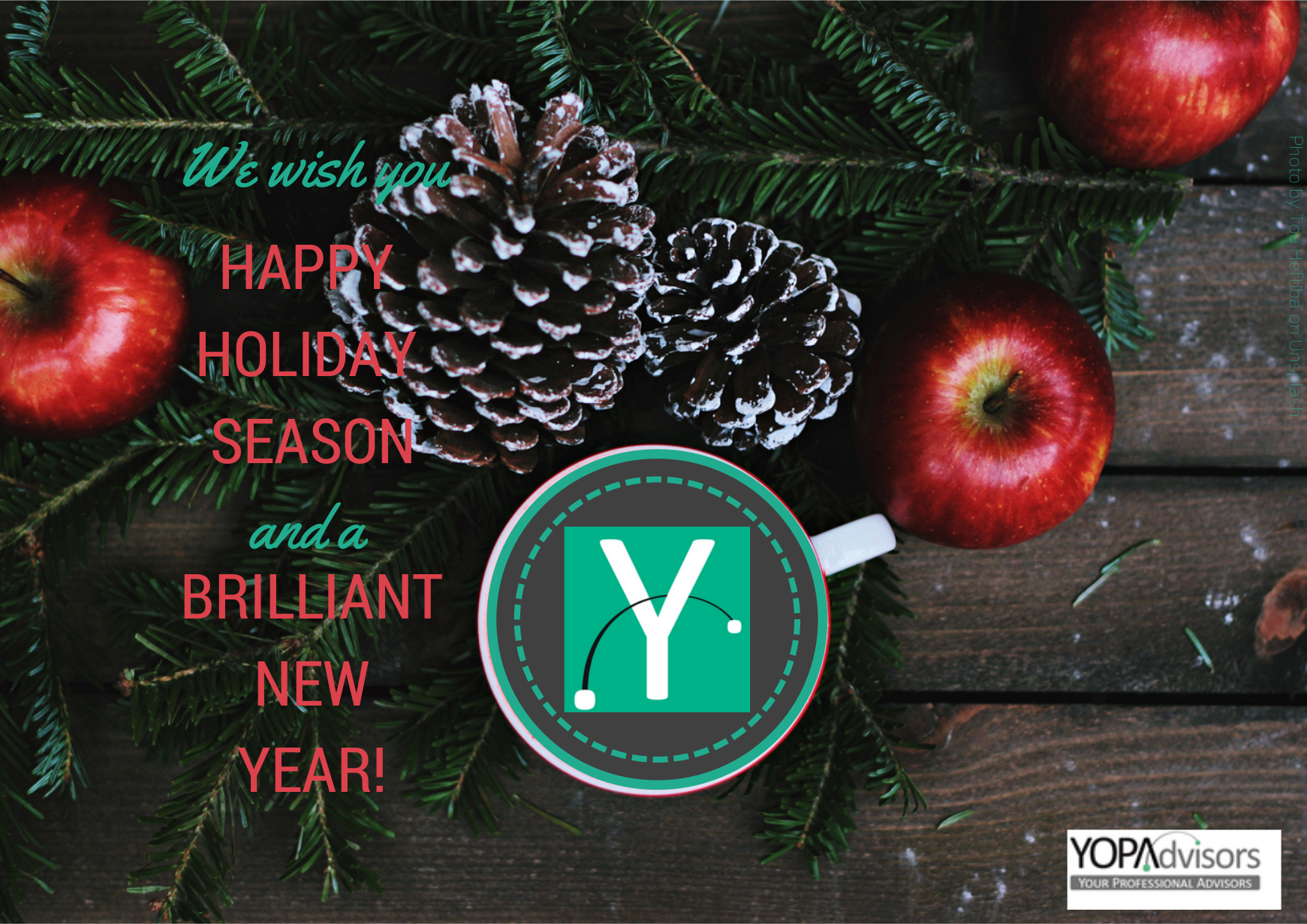 We wish you a merry YOPA Christmas!