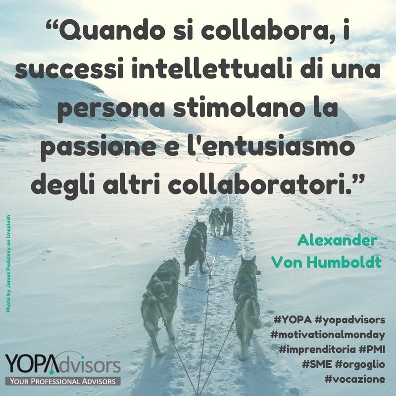 Passione, collaborazione, entusiasmo, successi