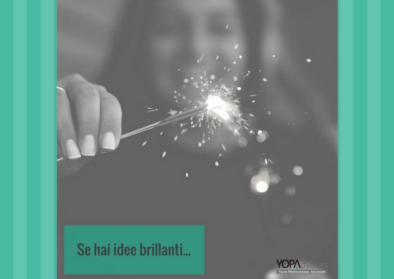 Se hai idee brillanti: YOPAcommunity ti sta cercando!
