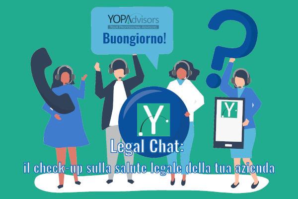 Legal Chat – una chiacchierata con la tua azienda