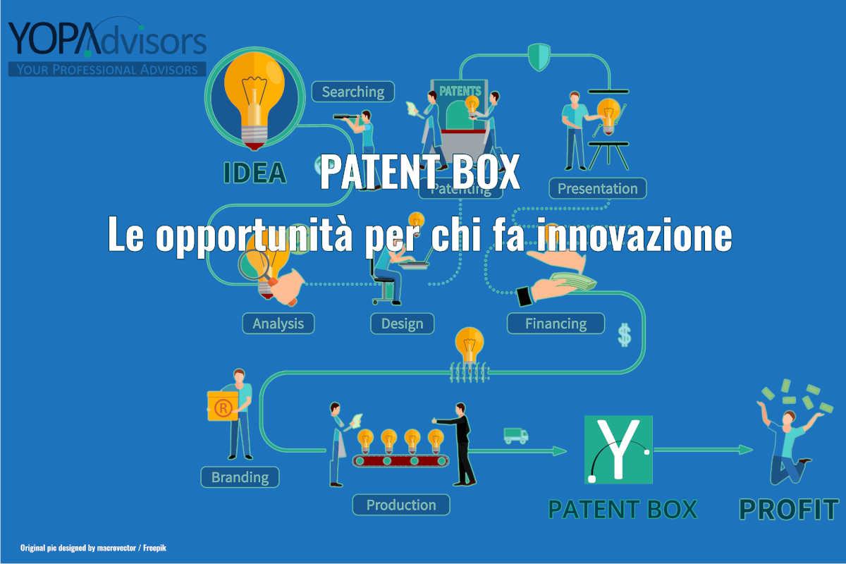 PATENT BOX: le opportunità per chi fa innovazione